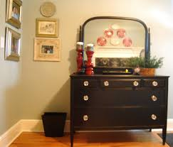 rustic unpolished mahogany dressers chest of drawers with eased small black painted wooden bedroom dresser mirror awesome black painted mahogany