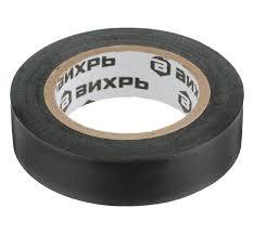 Изолента ВИХРЬ (15mm*10m) чёрный — купить в интернет ...