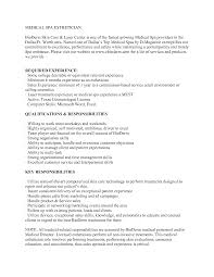 medical esthetician resume sample jobresume website medical esthetician resume sample jobresume website medical