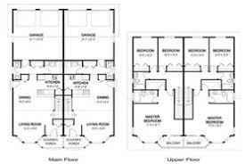 Awesome Modern Duplex House Plans   Modern Open Concept Floor        Awesome Modern Duplex House Plans   Modern Open Concept Floor Plans With An