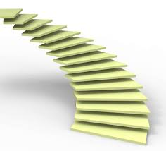 stock photo of stairs vision shows future objectives and image of future vision indicating steps goals and missions