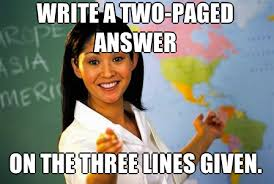 bad teacher meme | Tumblr via Relatably.com