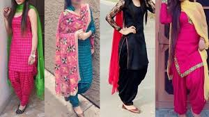 Daily wear <b>cotton</b> Punjabi suit designs/Punjabi suit designs for ...