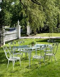 wrought iron table and chairs antique rod iron patio