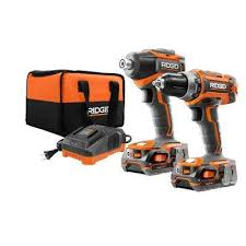RIDGID - Power Tool Combo Kits - Power Tools - The Home Depot