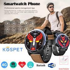<b>Kospet</b> Optimus Smart <b>Watch</b> Phone (silicone + <b>Leather Strap</b>) (2GB ...