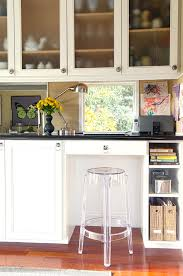 built in kitchen desk ideas kitchen contemporary with north bay office storage built office storage