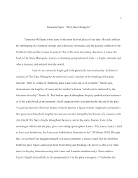 glass menagerie essay essay on the glass menagerie 10 essaydepot com