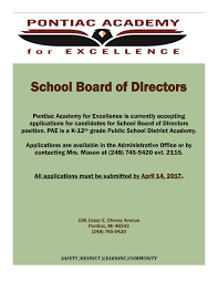 accepting applications for candidates for school board of accepting applications for candidates for school board of directors position through 14 2017