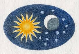 Image result for the sun moon and stars