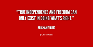 Image result for independence quotations