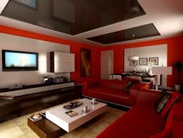brilliant red living room paint ideas with red sectional living couch and unique white black cocktail table to decorate open interior living room modern brilliant unique living room