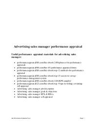 Advertising Sales Manager   LinkedIn LinkedIn