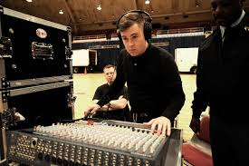 u s department of defense photo essay u s army sgt jonathan ehrhart checks the sound levels for the microphones as part