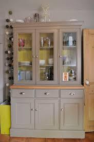 grey glazed bookcase pine dresser larder kitchen kitchen dresser makeover living with daisy interior design for beautif