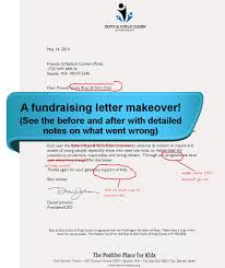 how to write the perfect fundraising letter non profit fundraising letter makeover