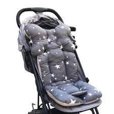 Baby Printed Stroller Pad Seat Warm Cushion Pad ... - Vova