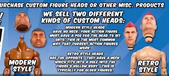 Purchase custom action figure heads made ... - MyFaceOnAFigure.com