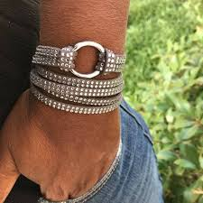 Wrap Bracelet <b>Boho Wrap Bracelet Crystal</b> Wrap Bracelet   Etsy