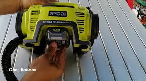 <b>Компрессор</b> для автомобилистов и водномоторников, <b>Ryobi</b> ...
