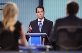 essay republican debate reflections wuwm republican presidential candidate wisconsin gov scott walker fields a question during the first republican presidential debate at the quicken loans arena