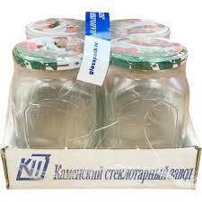 <b>Набор банок с</b> крышками 0.72 л, 4 шт. в Москве – купить по ...