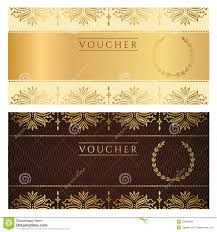 voucher gift certificate coupon ticket floral stock photos voucher gift certificate coupon ticket floral