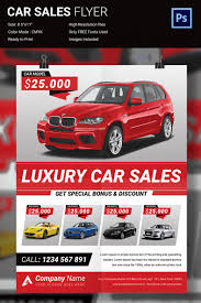 s flyer psd format attractive car flyer design