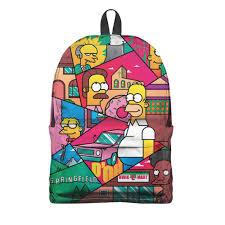 "Рюкзак 3D ""Simpsons"" #2860131 от balden - <b>Printio</b>"