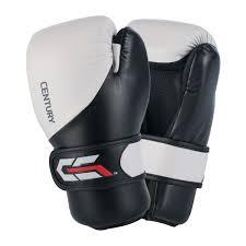 Купить боксерские <b>перчатки Century C</b>-<b>Gear</b> L черно-белые ...