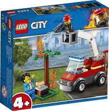 <b>Конструктор LEGO City Fire</b> 60212 Пожар на пикнике