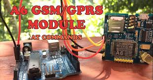 A6 GSM GPRS Module AT Commands - Easy Mades