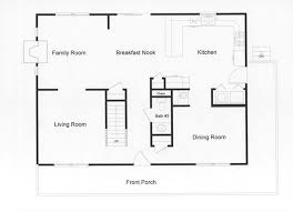Small Home Open Floor House Plans  colonial open floor plans    modular open floor plan large country kitchen and open living space
