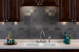 kitchen backsplash stainless steel tiles:  images about kitchen backsplash on pinterest stainless steel strip metals and grains