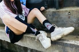 <b>Fashion Shark</b> Women <b>Hip Hop</b> Socks Long Cartoon Socks Unisex ...