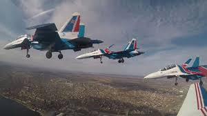 «<b>Русские витязи</b>» и «Стрижи» продемонстрировали высший ...