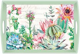 Pink Cactus <b>Michel Design Works</b> Hostess Napkins