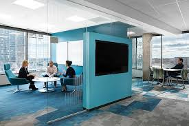 open office cubicles. a silicon valley bank meeting area is designed to foster connections between teams open office cubicles
