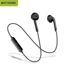 NATTHSWE <b>S6 Sport Neckband</b> Wireless Headphone Bluetooth ...