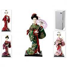 <b>Фигурка декоративная ENS</b>, Японка в кимоно, 10*10*24,5 см ...
