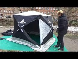 ЗаТуманом » Обзор <b>зимней палатки куб Woodland</b> Ultra Long ...