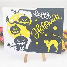 <b>Halloween Pumpkin Tree</b> Metal Cutting Dies <b>Stencil</b> DIY ...