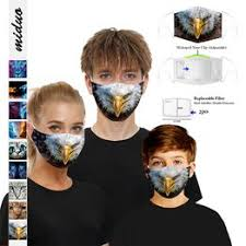 Digital Printing Adjustable Protective Mask Dustproof and ... - Vova