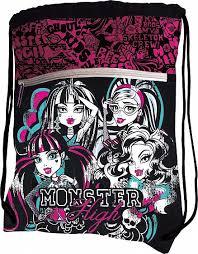 <b>Сумка Monster High</b> для сменной обуви - купить в Москве: цены в ...