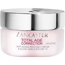<b>Total Age Correction</b> Anti-Aging Rich Day Cream & Glow Amplifier ...