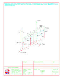 autocad plumbing drafting samples    abc p  iso