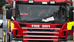 Shropshire firefighters on call to put out Bronington cab blaze