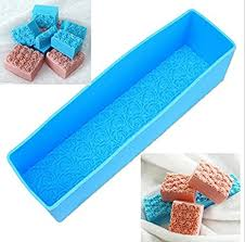 <b>3D Rose</b> Flower Toast Mold Loaf <b>Soap</b> Molds <b>Rectangle</b> Pastry ...