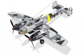 """Пластиковый <b>конструктор COBI</b> """"<b>Самолет</b> Messerschmitt Bf 110C ..."""