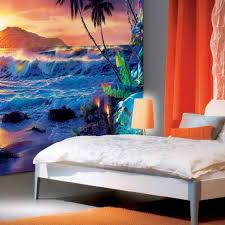 a nice beach wallpaper for bedroom and good home office ideas with elegant armchair beach themed rooms interesting home office